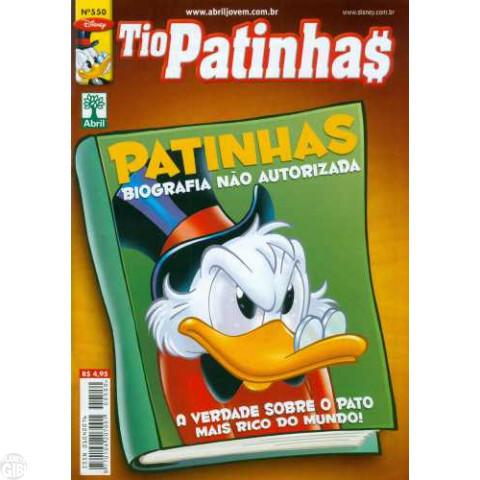 Tio Patinhas nº 550 mai/2011 - Sem Censura