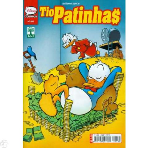 Tio Patinhas nº 585 mar/2014 - Super Pato: A Grande Caçada à Nº 3 Mil