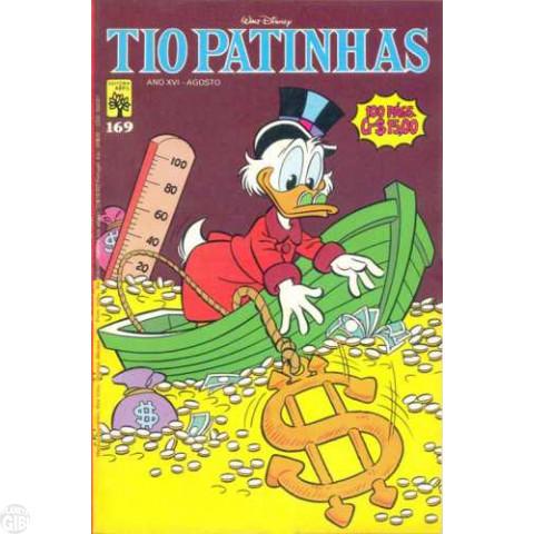 Tio Patinhas nº 169 ago/1979 - Vide Detalhes