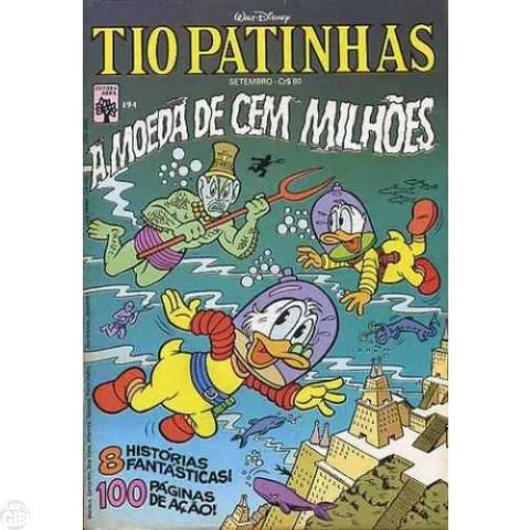 Tio Patinhas nº 194 set/1981 - A Moeda de Cem Milhões