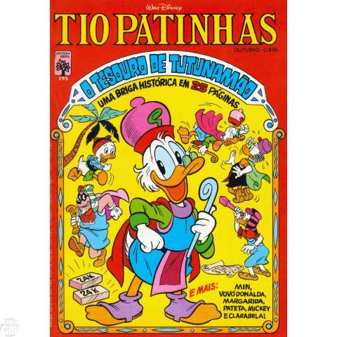 Tio Patinhas nº 195 out/1981 - O Tesouro de Tutunamão