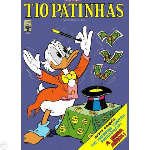 Tio Patinhas nº 196 nov/1981 - Vide Detalhes