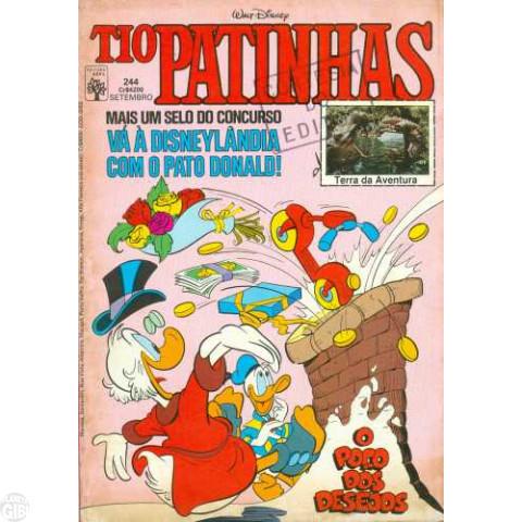 Tio Patinhas nº 244 set/1985
