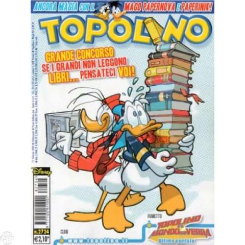 Topolino nº 2724 fev/2008 - Lacrado com Gibi Promo Disney Mangá #0