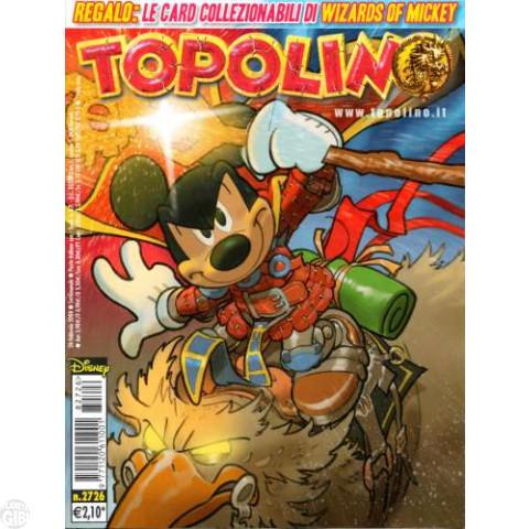 Topolino nº 2726 fev/2008 - Ultraheroes