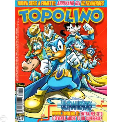 Topolino nº 2727 mar/2008 - Ultraheroes