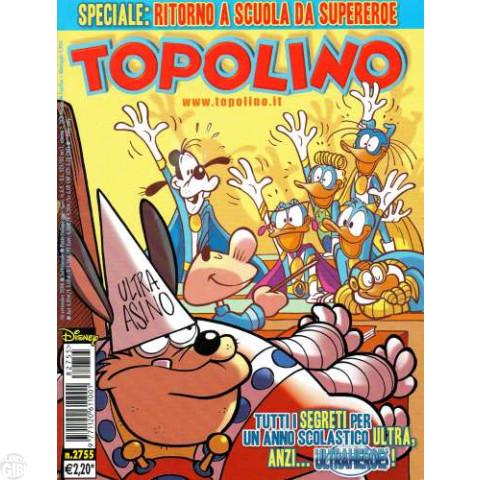 Topolino nº 2755 set/2008 - Ultraheroes