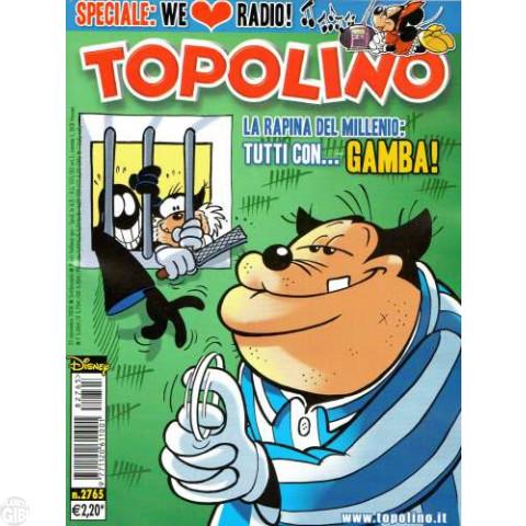 Topolino nº 2765 nov/2008