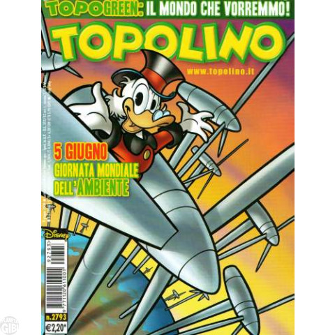 Topolino nº 2793 jun/2009