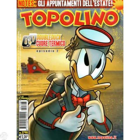 Topolino nº 2798 jul/2009 - DoubleDuck - Casty: Le Borbottiglie di Avaloa