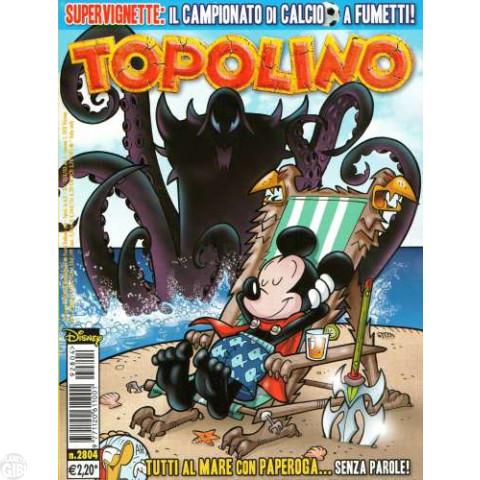Topolino nº 2804 ago/2009