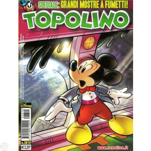 Topolino nº 2810 out/2009 - Casty: L'Incubo Orbitale - Paperinik
