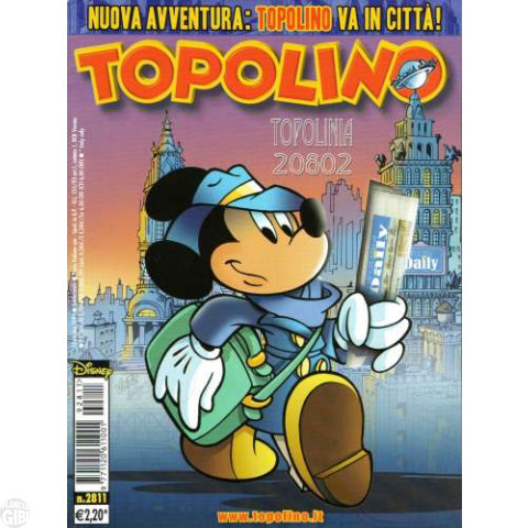 Topolino nº 2811 out/2009 - Topolinia 20802 - Casty