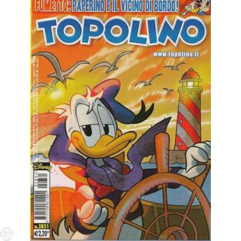 Topolino nº 2831 mar/2010