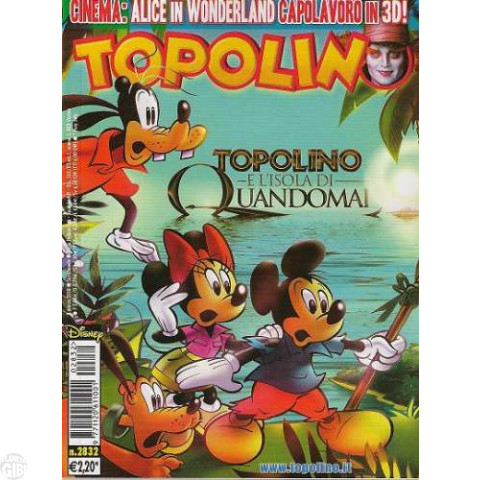 Topolino nº 2832 mar/2010 - Casty: L'Isola di Quandomai