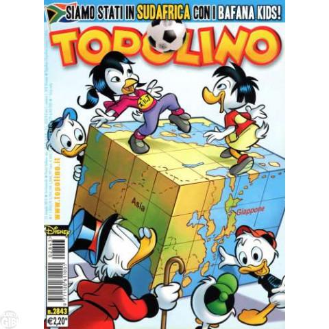 Topolino nº 2843 mai/2010 - Cartola Mascarado (inédita no Brasil) - Paperinik