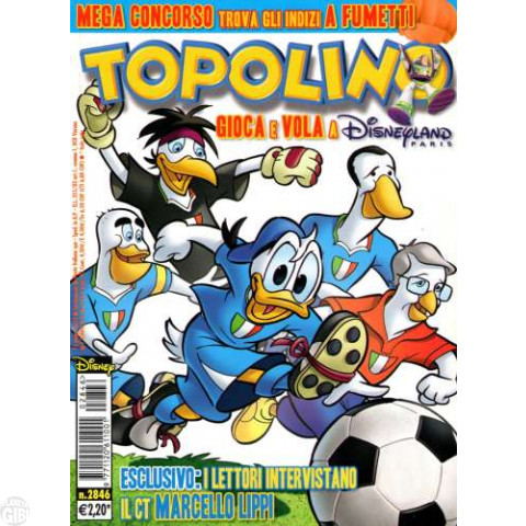 Topolino nº 2846 jun/2010