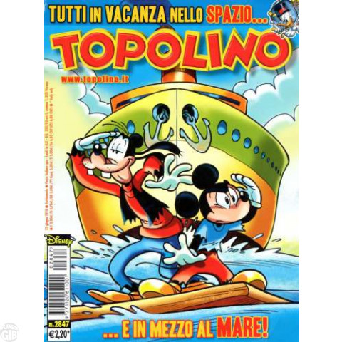 Topolino nº 2847 jun/2010
