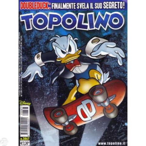Topolino nº 2867 nov/2010 - DoubleDuck - Paperinik