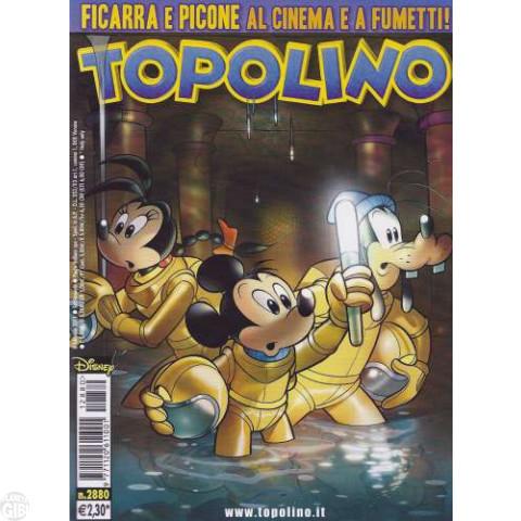 Topolino nº 2880 fev/2011 - Casty: Le Miniere di Fantametallo - Paperinik