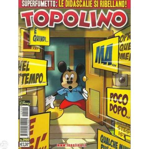 Topolino nº 2900 jun/2011 - Casty