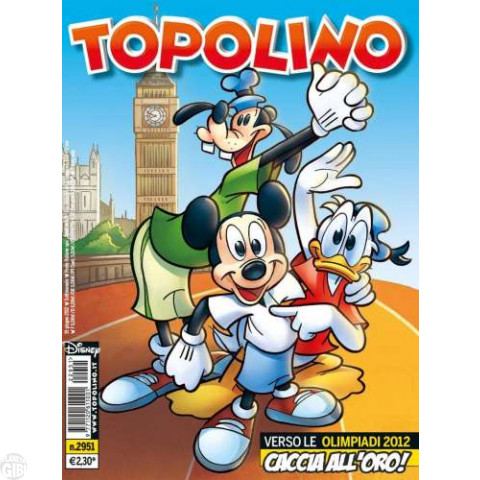 Topolino nº 2951 jun/2012