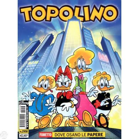 Topolino nº 2958 ago/2012