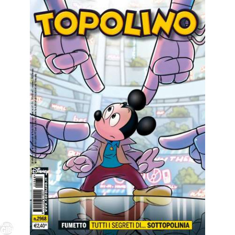 Topolino nº 2968 out/2012