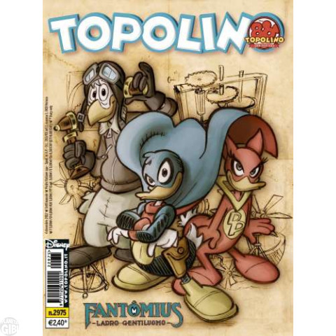 Topolino nº 2975 dez/2012 - Fantomius