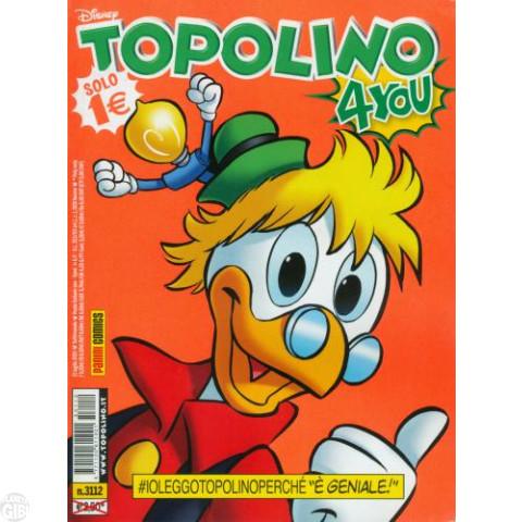 Topolino nº 3112 jul/2015 - Capa Prof. Pardal - Vide Detalhes