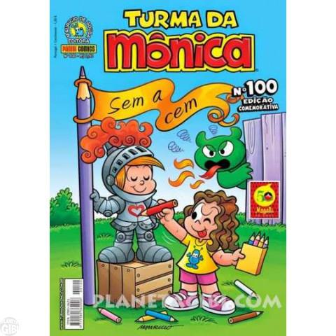 Turma da Mônica [2ª série - Panini] nº 100 abr/2015 - Edição Comemorativa - Última Edição Desta Série