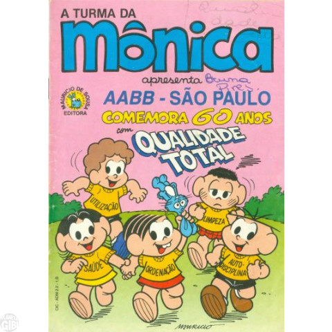 Turma da Mônica - AABB São Paulo Comemora 60 Anos - Promo/Educativa