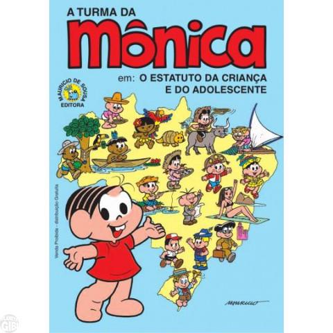 Turma da Mônica - Estatuto da Criança e do Adolescente [Preto Branco]- Promo/Educativa