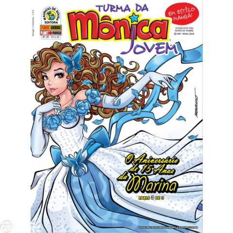 Turma da Mônica Jovem [1ª série - Panini] nº 028 nov/2010