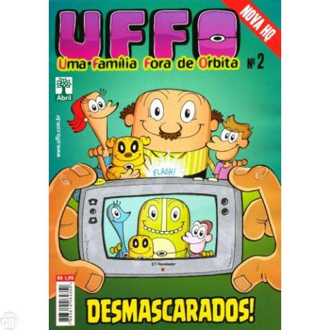 UFFO Uma Família Fora de Órbita nº 002 mar/2012 - PROMOÇÃO VÁLIDA ATÉ 19/02/2019