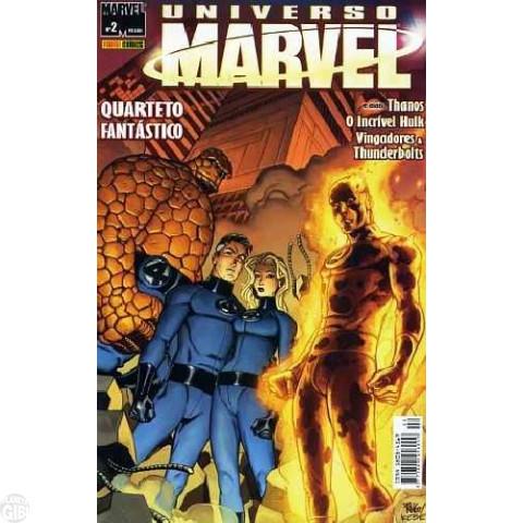 Universo Marvel [Panini - 1ª série] nº 002 ago/2005