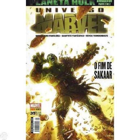 Universo Marvel [Panini - 1ª série] nº 035 mai/2008 - Planeta Hulk