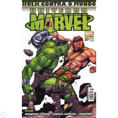 Universo Marvel [Panini - 1ª série] nº 037 jul/2008 - Hulk Contra o Mundo