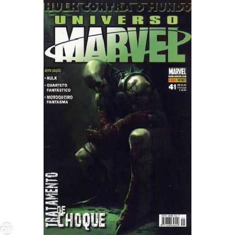 Universo Marvel [Panini - 1ª série] nº 041 nov/2008 - Hulk Contra o Mundo