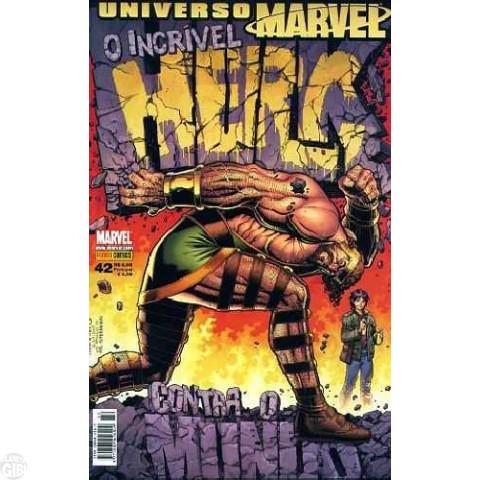 Universo Marvel [Panini - 1ª série] nº 042 dez/2008 - Hulk Contra o Mundo