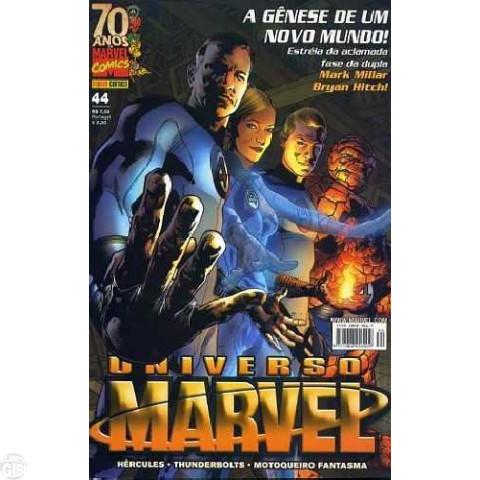 Universo Marvel [Panini - 1ª série] nº 044 fev/2009