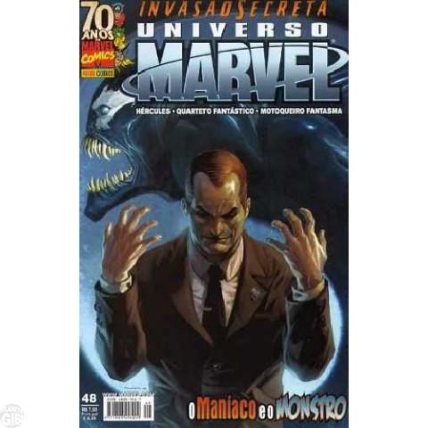 Universo Marvel [Panini - 1ª série] nº 048 jun/2009 - Invasão Secreta