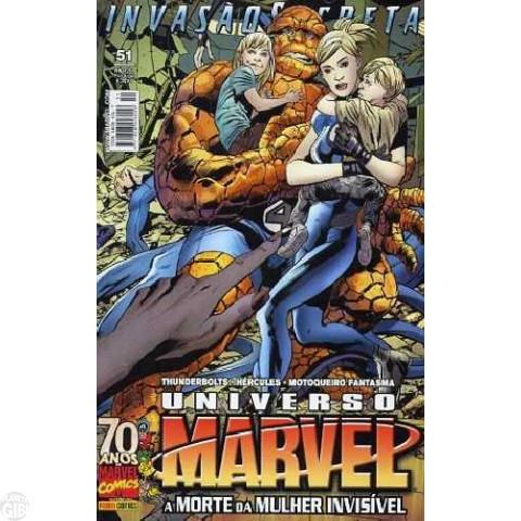 Universo Marvel [Panini - 1ª série] nº 051 set/2009 - Invasão Secreta