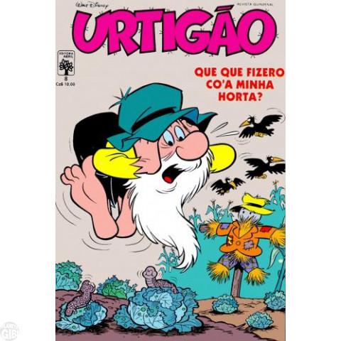 Urtigão [1ª série] nº 008 set/1987 - Urtigão, O Delegado - Vide detalhes