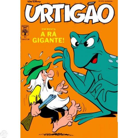 Urtigão [1ª série] nº 017 jan/1988 - A Rã Gigante
