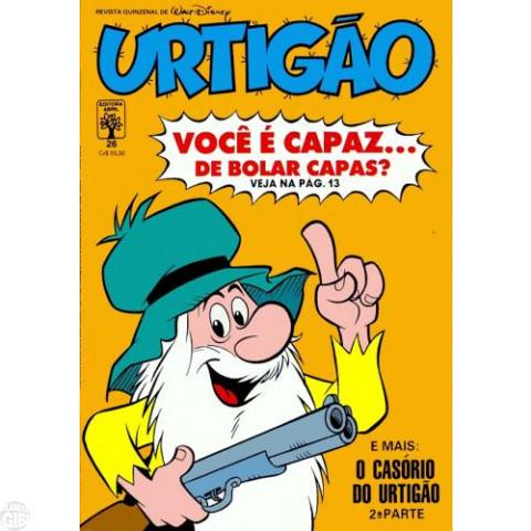 Urtigão [1ª série] nº 026 mai/1988 - A Noiva Estrela