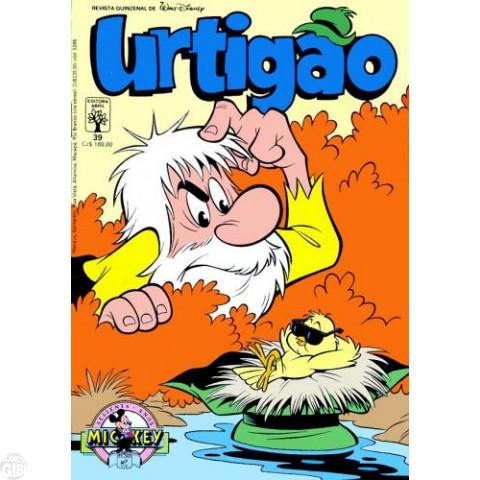 Urtigão [1ª série] nº 039 nov/1988 - Churrascada Enrascada - Vide detalhes