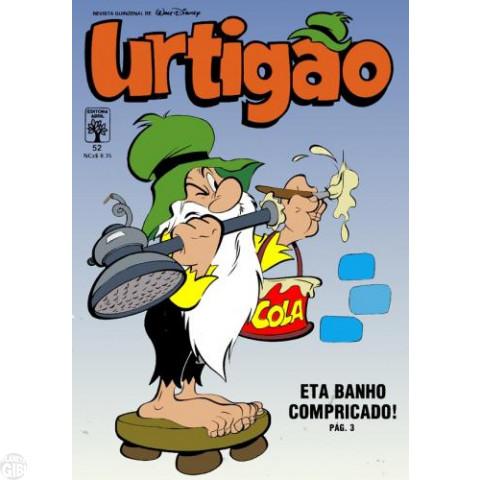 Urtigão [1ª série] nº 052 mai/1989 - Eta Banho Compricado! - Vide detalhes