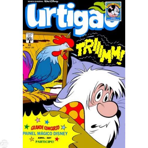 Urtigão [1ª série] nº 062 set/1989 - Tiro Também é Cultura - Vide detalhes