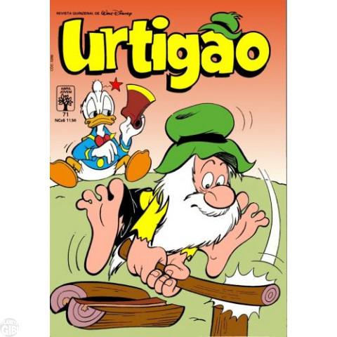 Urtigão [1ª série] nº 071 fev/1990 - Dinheiro Vivo, Caipira Também - Vide detalhes